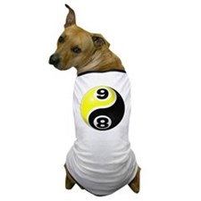 8 Ball 9 Ball Yin Yang Dog T-Shirt