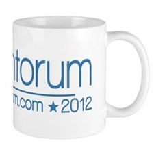 10x3_rick_santorum_02_blue Coffee Mug