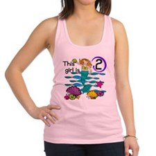 MERMAIDTwo Racerback Tank Top