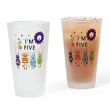 ROBOTFIVE Drinking Glass