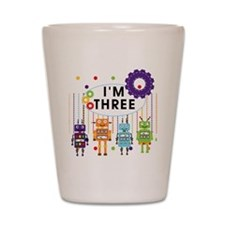 ROBOTTHREE Shot Glass