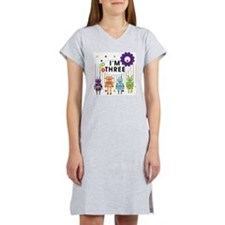 ROBOTTHREE Women's Nightshirt