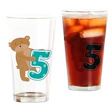bearfiveyr Drinking Glass