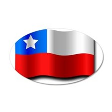 Chilean_Flag_2_by_Merlin2525 Wall Decal