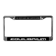 Cute Equilibrium License Plate Frame