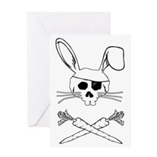 bunnypirate Greeting Card