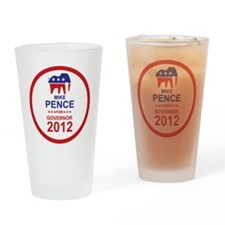 2012_mike_pence_main Drinking Glass