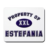 Property of estefania Mousepad