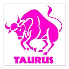 "Taurus1 Square Car Magnet 3"" x 3"""