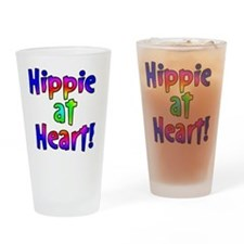 hippieheart Drinking Glass