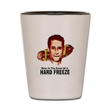 HardFreezeWarning12x12 Shot Glass