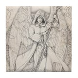 Archangel Raphael Tile Coaster