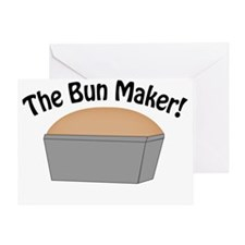 The-Bun-Maker Greeting Card