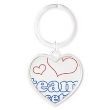 TC Heart Keychain