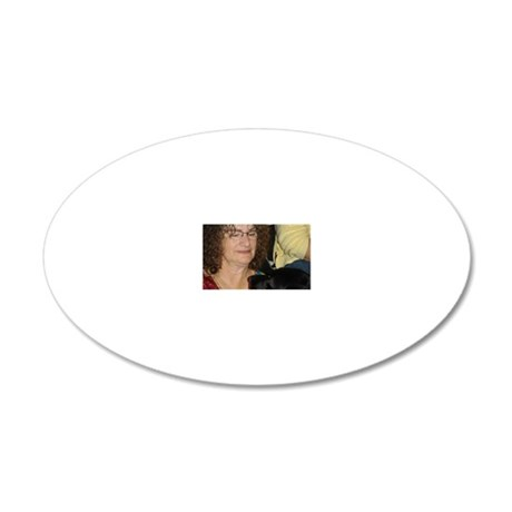 Eileen  Cindy 20x12 Oval Wall Decal