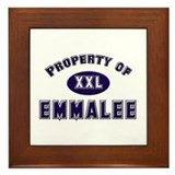 Property of emmalee Framed Tile