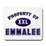 Property of emmalee Mousepad