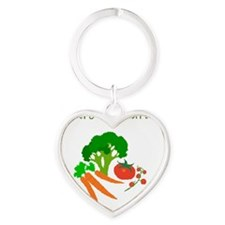 future vegetarian Heart Keychain