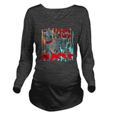 Tripawd Wwarrior Bel Long Sleeve Maternity T-Shirt