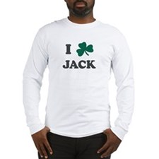 I Shamrock JACK Long Sleeve T-Shirt