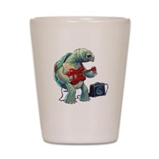 Turtle Tuning Guitar Shot Glass