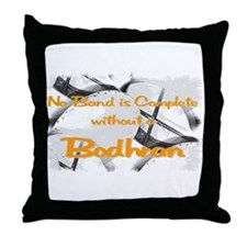 Bodhran Throw Pillow