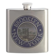 Brooklyn_Button2 Flask