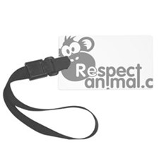 respect-animal-04 Luggage Tag