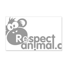 respect-animal-04 Wall Decal