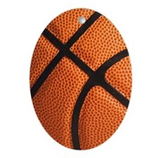 basketball Oval Ornament