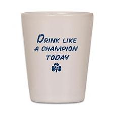 Drink_shirt_bl Shot Glass