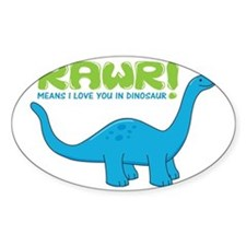 rawrdino Decal