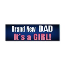 Brand New Dad girl Cpress Car Magnet 10 x 3