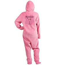 Vegaholic Footed Pajamas