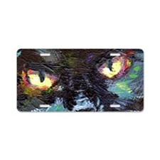 blackcat_eyes Aluminum License Plate
