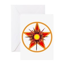Blessed Solstice Greeting Card
