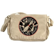LuckyBowling_NoScratch Messenger Bag