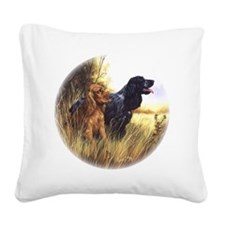 Cocker Cushion Square Canvas Pillow