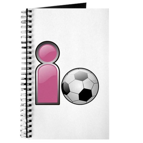 I play Soccer - Pink Journal