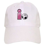 I play Soccer - Pink Cap