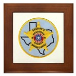 Hardeman County Sheriff Framed Tile