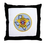 Hardeman County Sheriff Throw Pillow