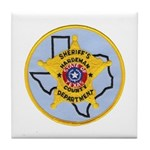Hardeman County Sheriff Tile Coaster