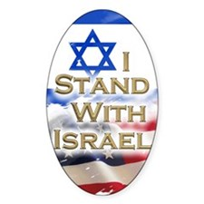 I stand with Israel 001 Decal