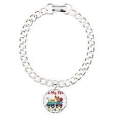 first birthday train Bracelet