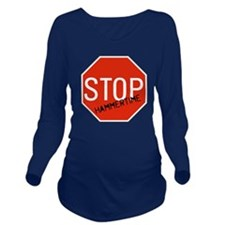 Hammer Time Long Sleeve Maternity T-Shirt