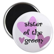 Sister of the Groom Magnet