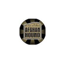 Afghan Hound Dog Choice Owner Mini Button