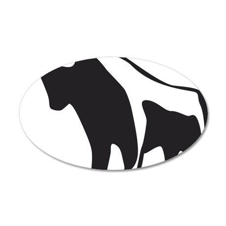 bull 35x21 Oval Wall Decal