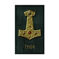 Thors Hammer X Gold- THOR Decal